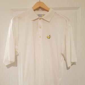 Other - Augusta National Golf Shop White Medium Polo